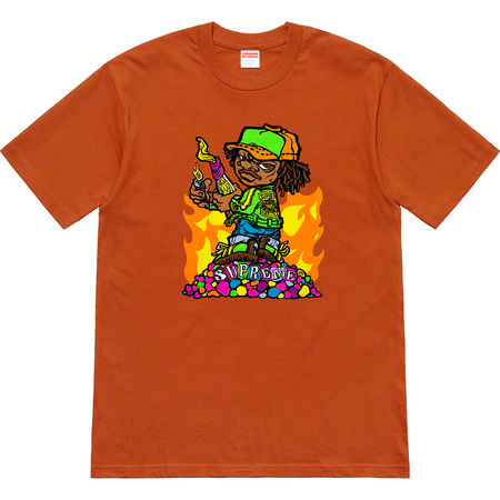Molotov Kid Tee (Rust)