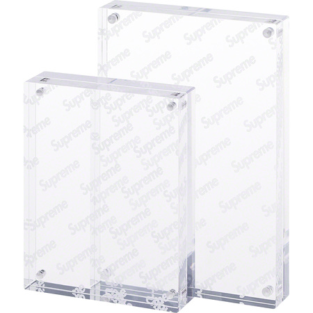 Acrylic Photo Frame (Set of 2) (Clear)