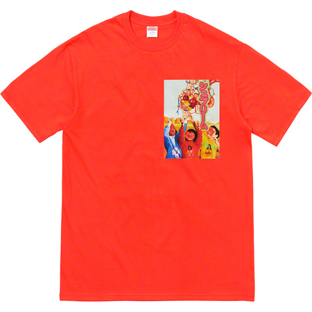 Sekintani La Norihiro/Supreme Tee (Bright Orange)