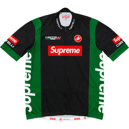 Supreme®/Castelli Cycling Jersey (Black)