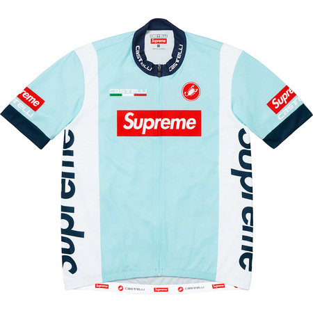 Supreme®/Castelli Cycling Jersey (Light Blue)