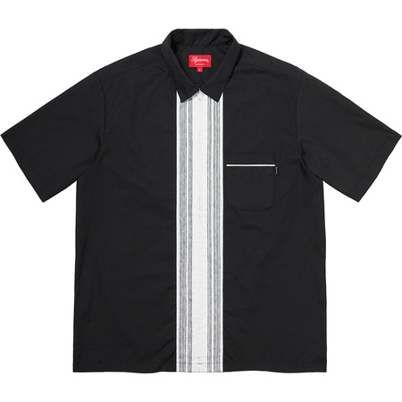Bowling Zip S/S Shirt (Black)