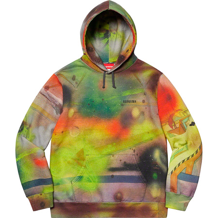 Rammellzee Hooded Sweatshirt (Multicolor)