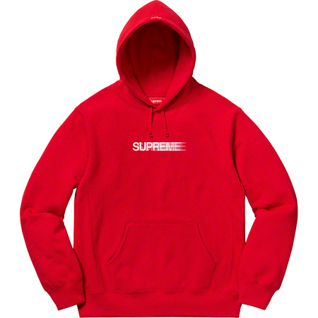 Motion Logo Hooded Sweatshirt (Red)
