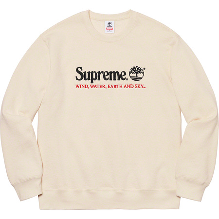 Supreme®/Timberland® Crewneck (Natural)