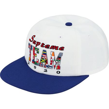 Supreme Team 6-Panel (White)