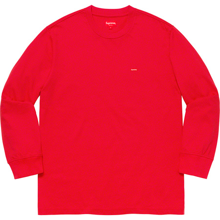 Small Box L/S Tee (Red)