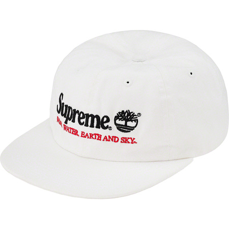Supreme®/Timberland® 6-Panel (White)