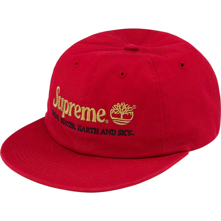 Supreme®/Timberland® 6-Panel (Red)