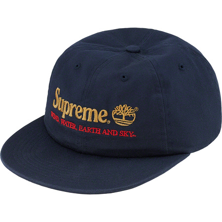 Supreme®/Timberland® 6-Panel (Navy)