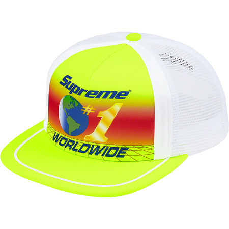 Worldwide Mesh Back 5-Panel (Acid Yellow)