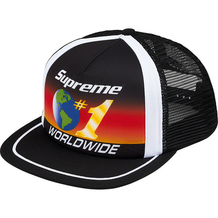 Worldwide Mesh Back 5-Panel (Black)