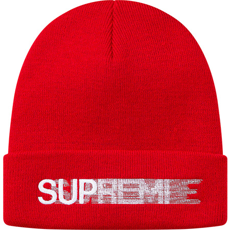 Motion Logo Beanie (Red)