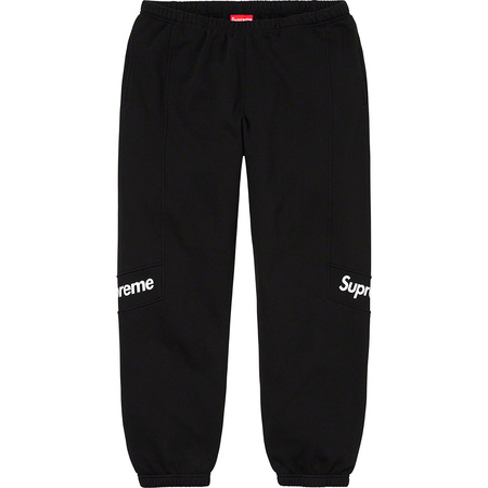 Color Blocked Sweatpant (Black)