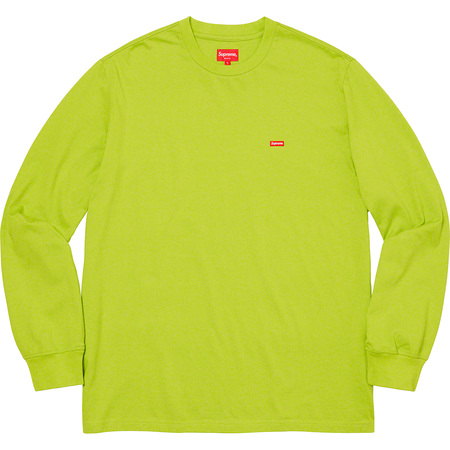 Small Box L/S Tee (Dark Lime)