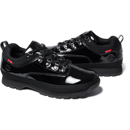 Supreme®/Timberland® Patent Leather Euro Hiker Low (Black)