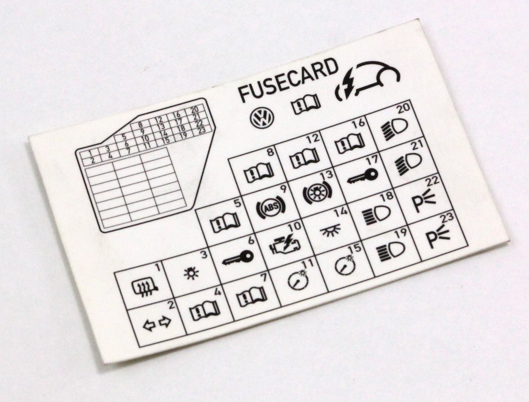 2004 Audi A4 Fuse Box Diagram