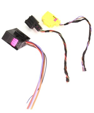 RH Heated Seat Wiring Harness Pigtail Plugs Connectors 07
