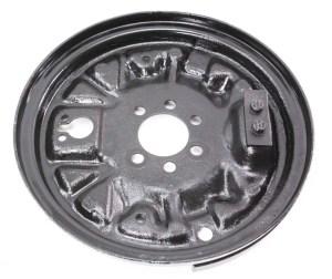 LH Rear Drum Brake Backing Plate 9399 VW Jetta Golf