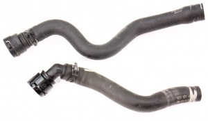 Heater Core Coolant Line Hose 9805 VW Beetle 20  Genuine  1C0 121 081 B