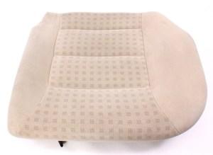 LH Rear Back Seat Cushion & Cover 9905 VW Jetta Golf MK4 Beige Cloth  Genuine