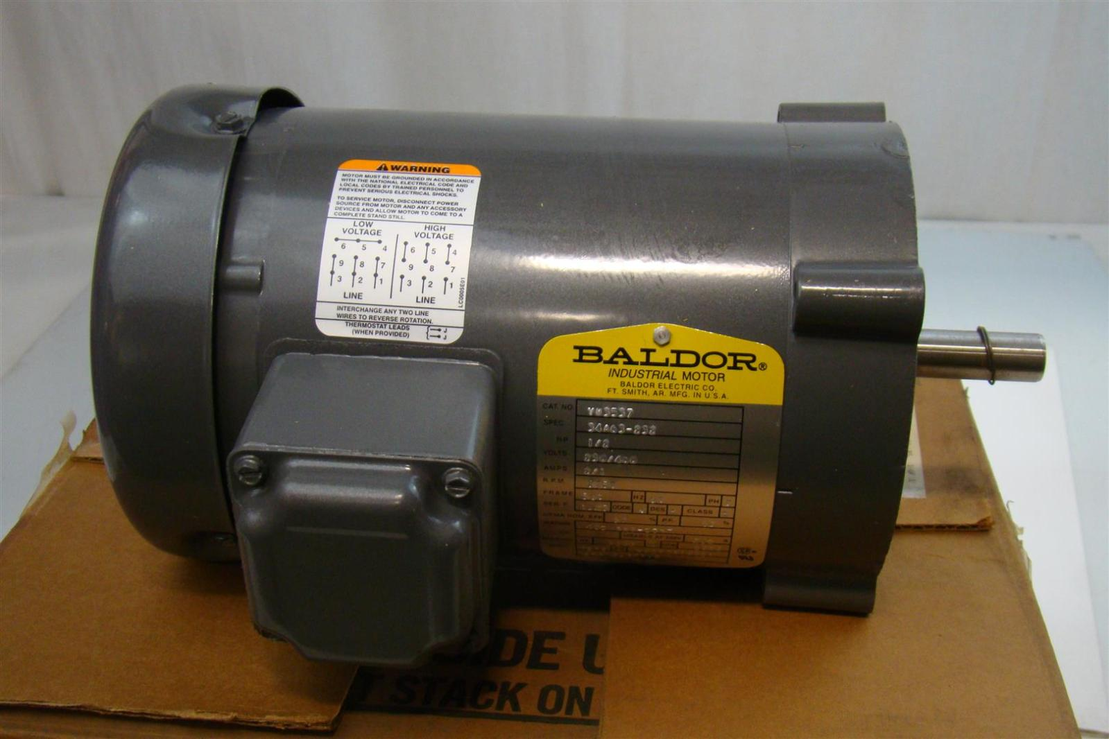aew119 baldor electric co industrial electric motor 230 460v 2 1amp 345rpm 1 2hp vm3537 2?resize\\\\\\\\\\\\\\\\\\\\\\\\\\\\\\\=665%2C443 2 hp baldor motor wiring diagram schematic 2 wiring diagrams  at panicattacktreatment.co