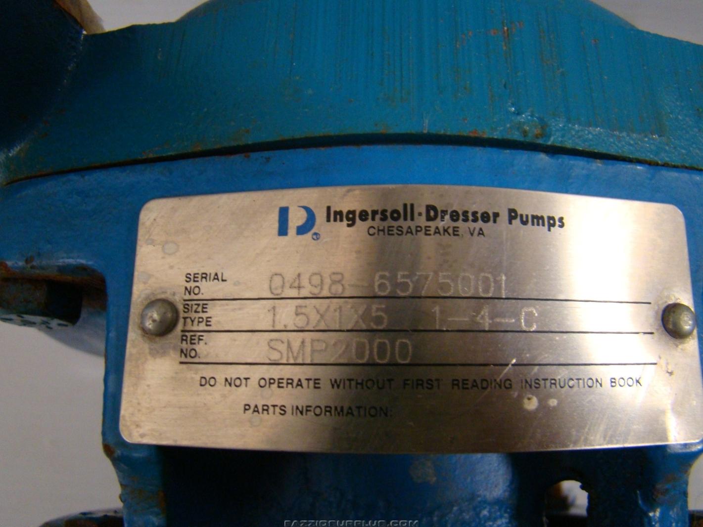 Ingersoll Dresser Pump Parts