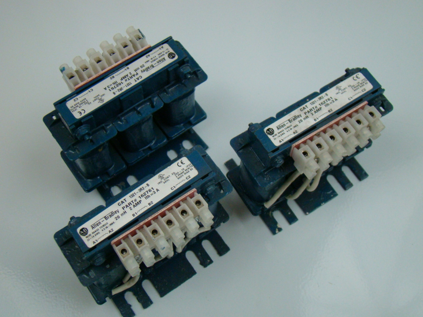 Allen Bradley 2 Amp 3 Phase Transformer