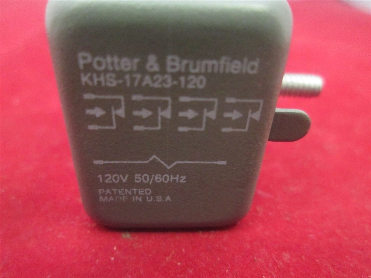 Potter Amp Brumfield Khs 17a23 120 Relay