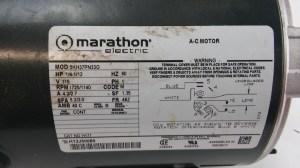 MARATHON ELECTRIC AC MOTOR 5KH37PN33G | Lotastock