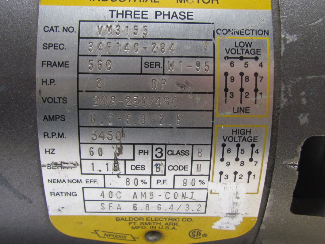 Baldor 10 Hp Single Phase Wiring Diagram And