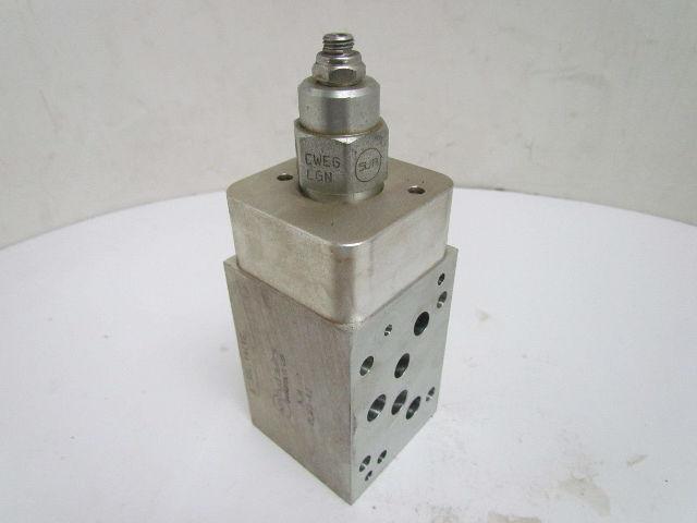 Sun Hydraulics Nja Olw2 A2 Aluminum Hydraulic Valve