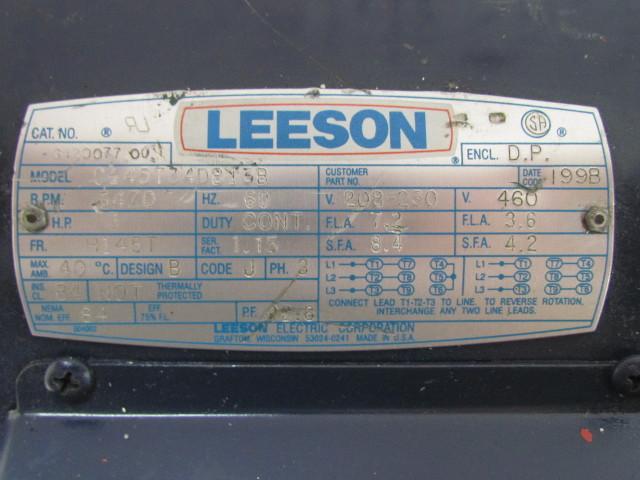 230 460 Motor Wiring Diagram