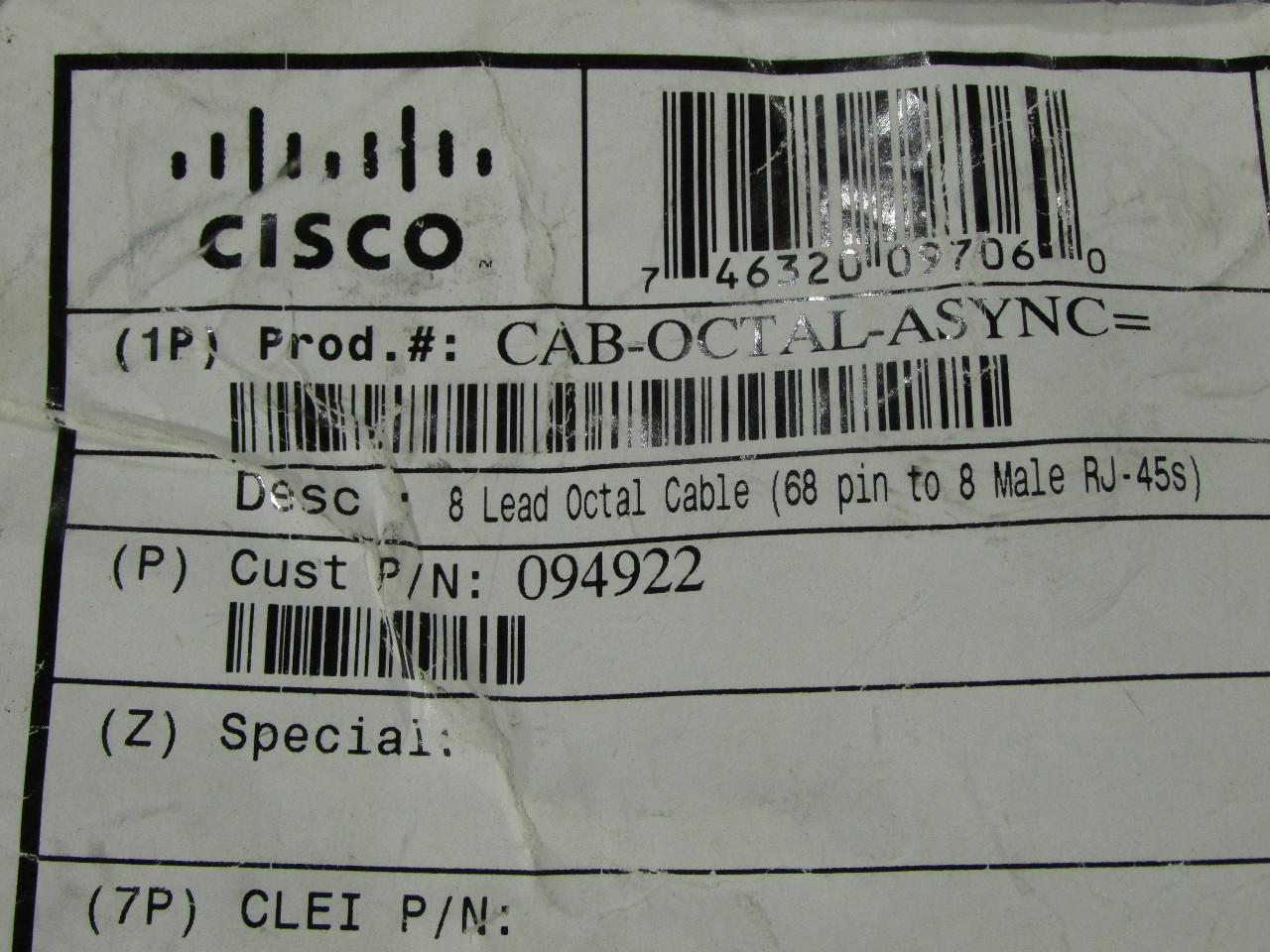 Cisco Set Top Box