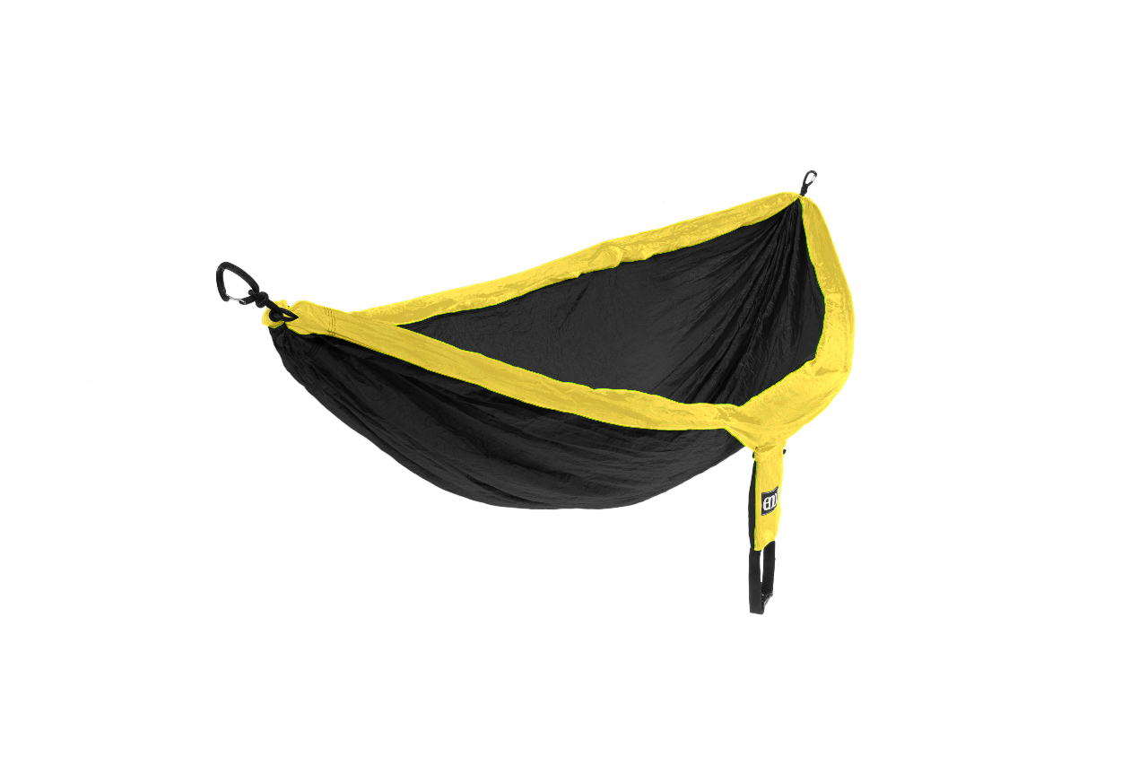 Eagles Nest Outfitters Eno Doublenest Hammock Black Yellow