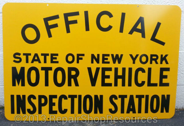 New York State Vehicle Inspection
