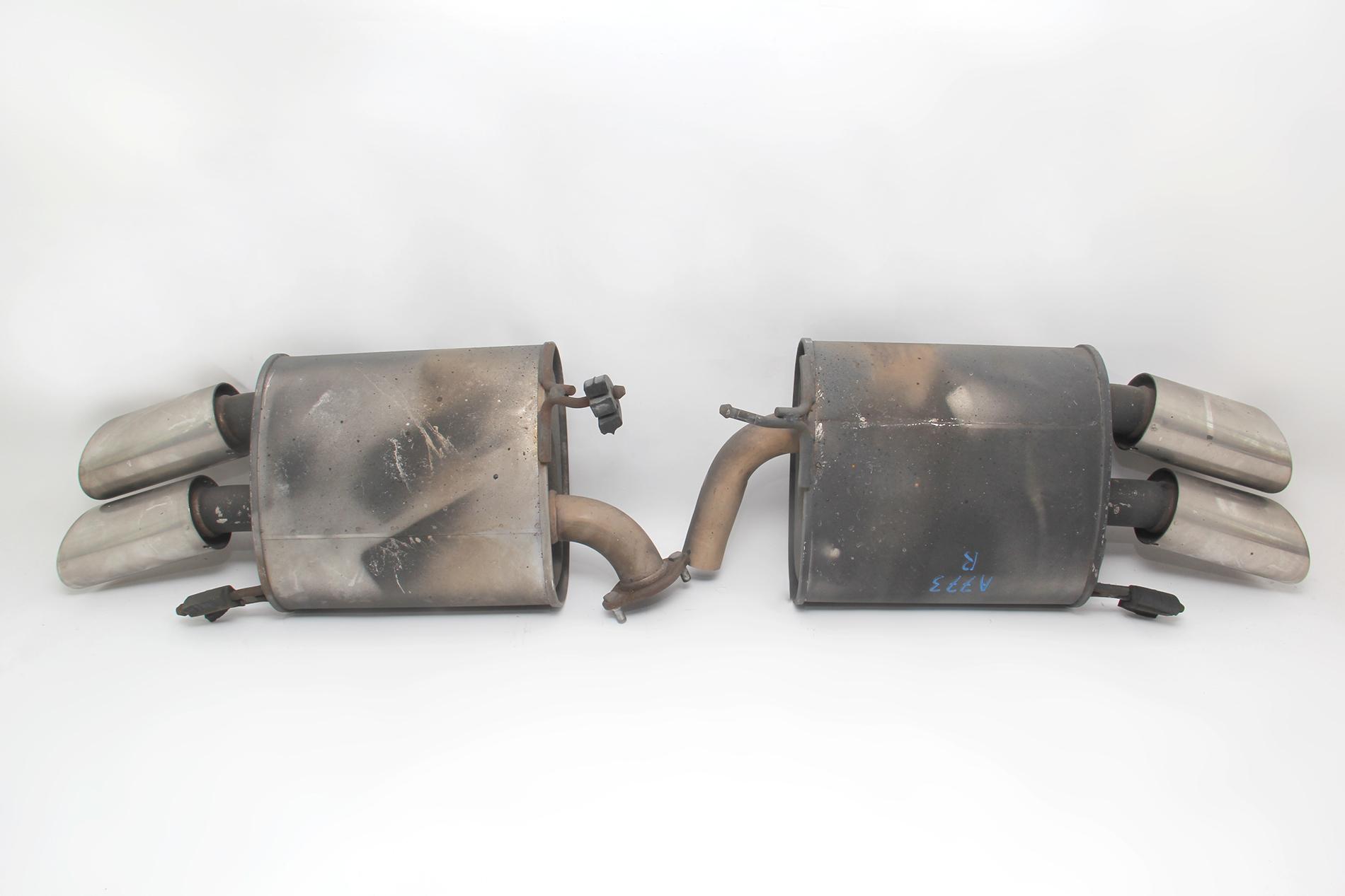 acura tl type s 07 08 exhaust muffler