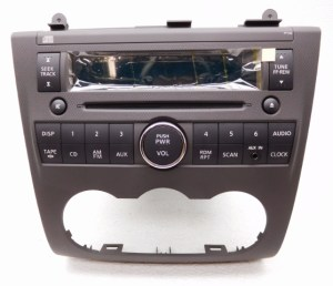 New OEM Nissan Altima Radio Stereo Cassette CD Player WO