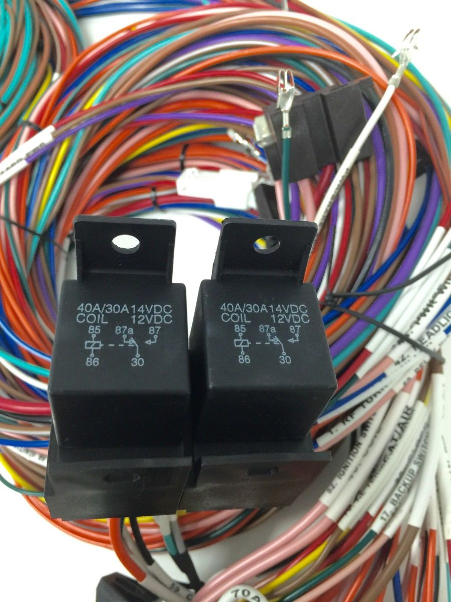 rebel wire 21 circuit american muscle wiring harness   52