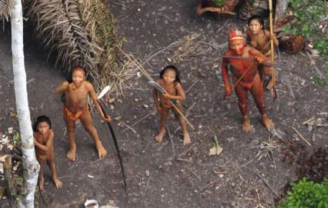 Image result for uncontacted tribe in Brazil's Amazon Basin