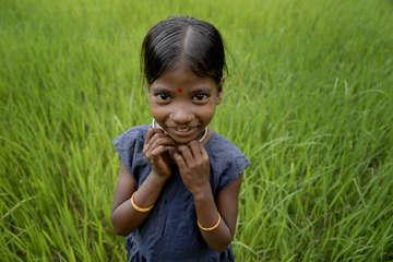 Dongria Kondh girl.
