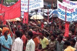 There have been repeated protests against Vedanta's planned mine.