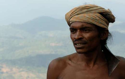 Dongria leader Lodu Sikaka has called for an end to the harassment of village leaders and vowed to defend Niyamgiri.