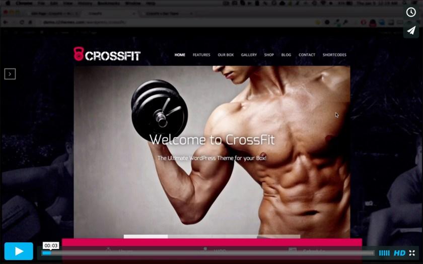 crossfit video