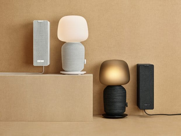Ikea Symfonisk: the new products come in two colors. (Photo: Ikea)
