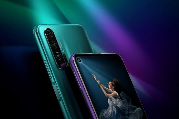 Honor 20, Pro, with a Quad-camera