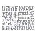 A World Of Thanks Clear-Mount Background Stamp