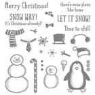 Snow Place Photopolymer Stamp Set