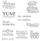 Me = Grateful Clear-Mount Stamps