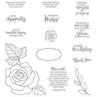Rose Wonder Photopolymer Stamp Set